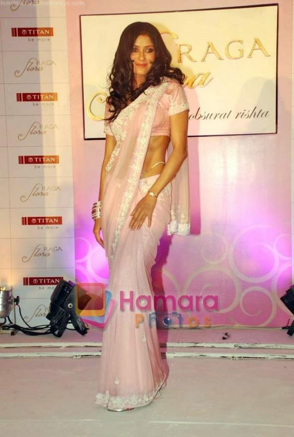 Nandana Sen Nice In Saree Photo Shoot