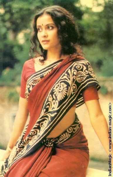 Nandana Sen In Saree Nice Wallpaper