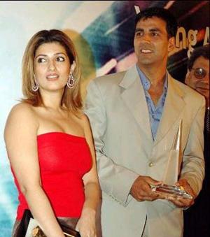 Akshay Kumar And Twinkle Khanna Photo