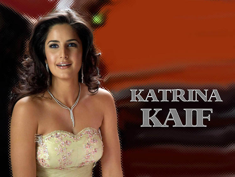Katrina Kaif Strapless Dress Sizzling Wallpaper