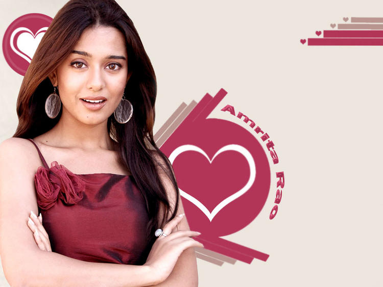 Amrita Rao Shocking Look Wallpaper