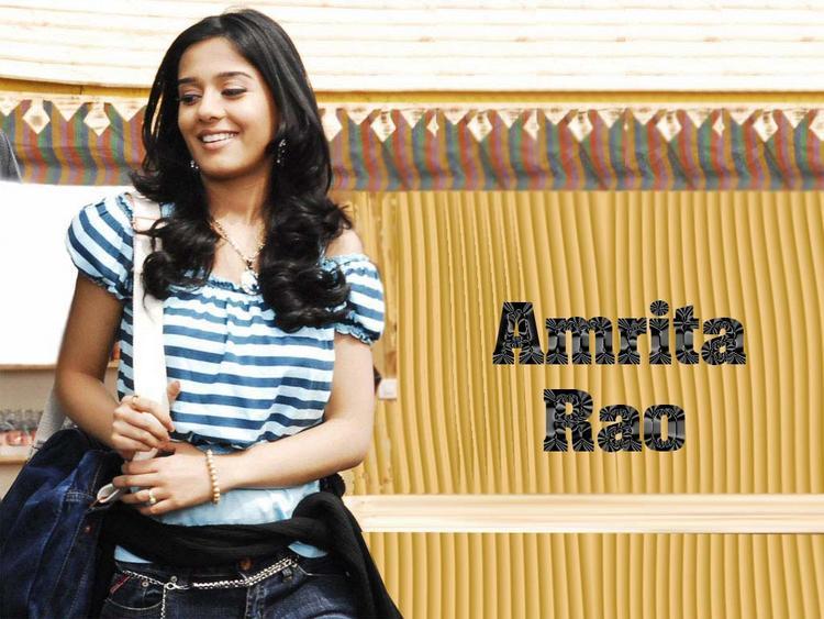 Glory Face Amrita Rao Wallpaper