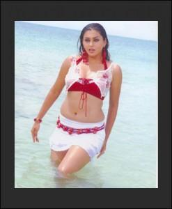 Namitha Wet Outfit Still