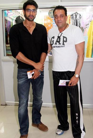Sanjay Dutt and Rana Daggubati Promote Department In Lucknow