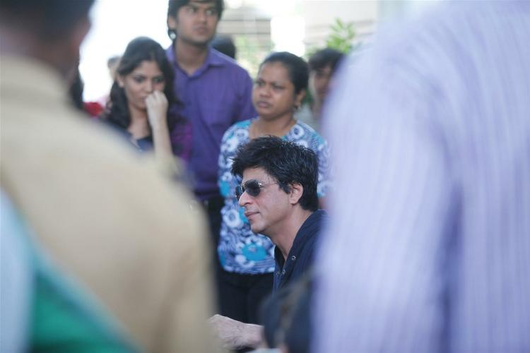 Shahrukh Held A Press Conference At His Residence In Mumbai