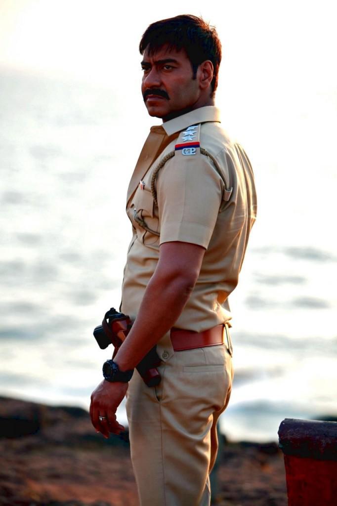 Ajay Devgan Police Dress Still In Singham