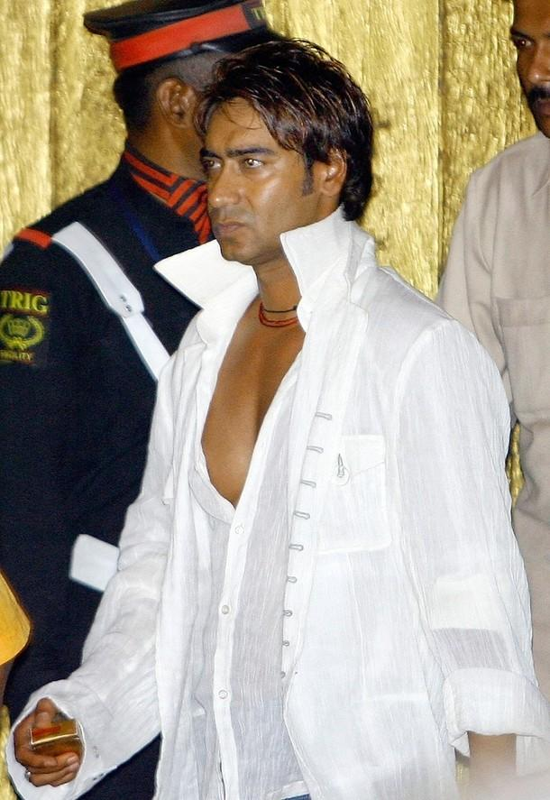 Ajay Devgan White Shirt Stylist Pic