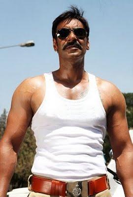 Ajay Devgn Hot Stunning Pic In Singham