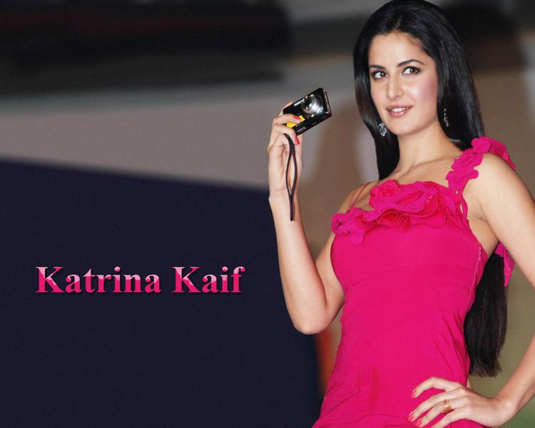 Katrina Kaif Camera Launch Wallpaper
