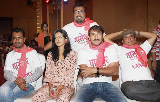 Music Director Sneha Khanwalkar at Gangs of Wasseypur Press Meet
