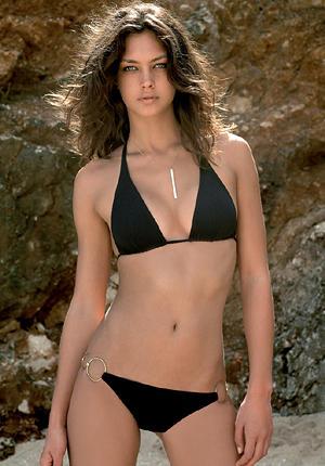 Candice Boucher Black Bikini Stunning Pic