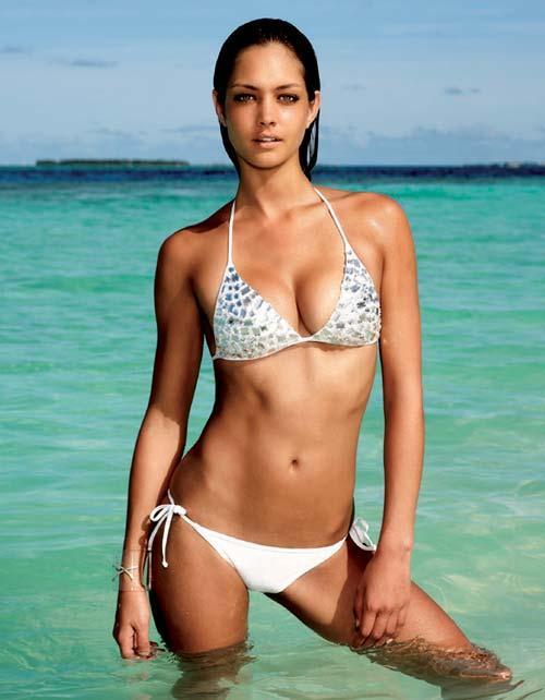 Candice Boucher Slim Figure Exposing Still