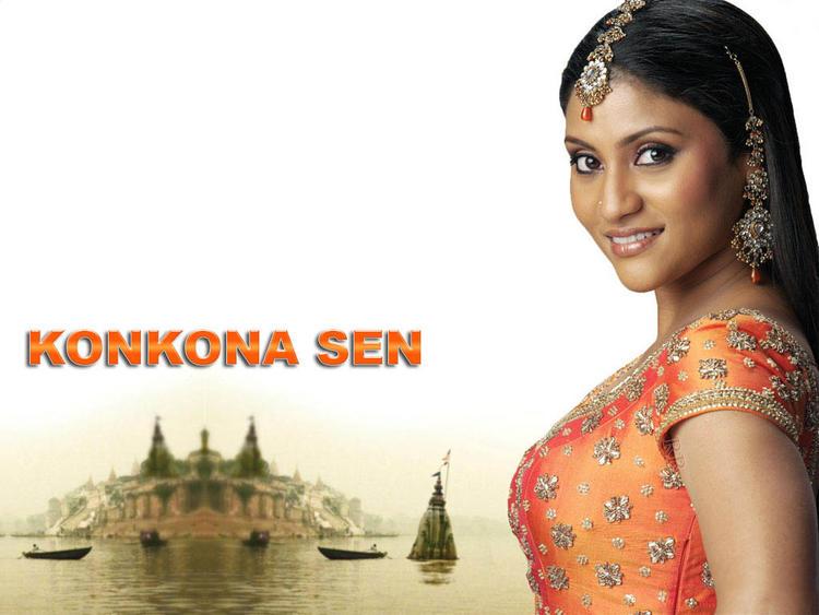 Konkona Sen Sharma Sizzling Look Wallpaper
