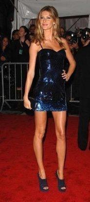 Gisele Bundchen Sexy Legs Exposing Still On Red Carpet