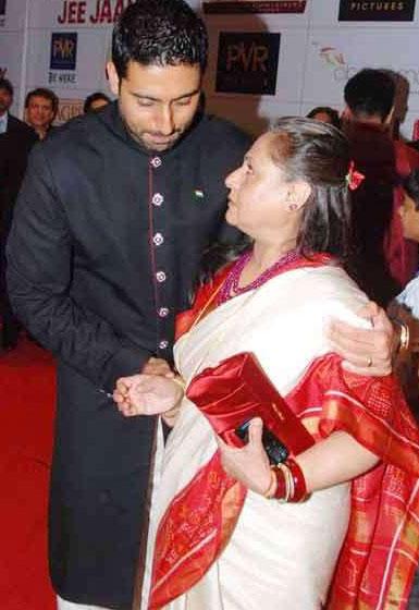 Abhishek Bachcha and Mum Jaya Latest Photo