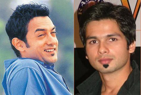 Aamir Khan And Shahid Kapoor Nice Photo