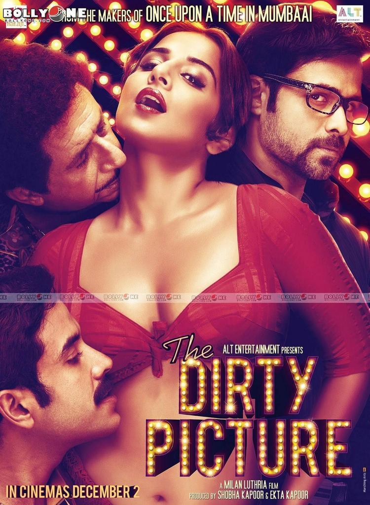 Vidya Balan On Dirty Picture Wallpaper Photo