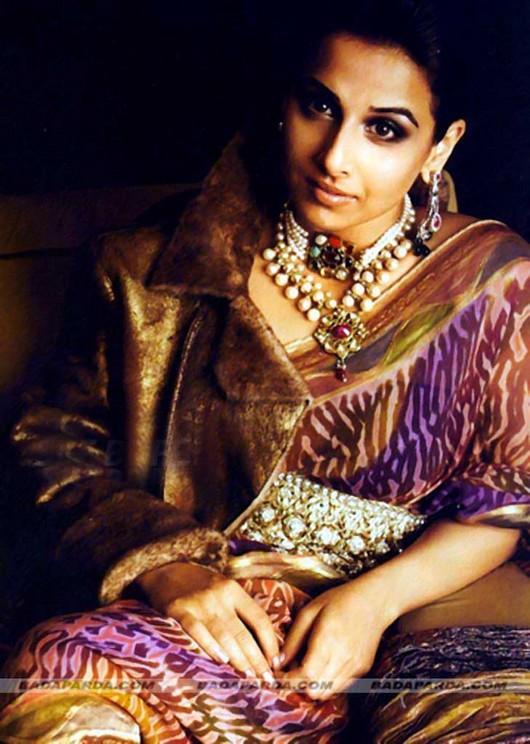 Vidya Balan Gorgeous Look In Saree Hot Pic