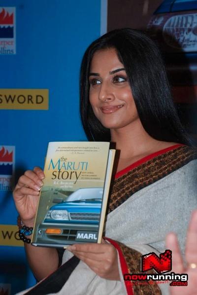 Vidya Balan At The Maruti Story Book Launch