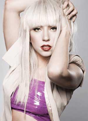 Lady Gaga White Hair Sexy Still