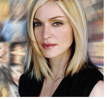 Madonna Nice and Cool Look Still