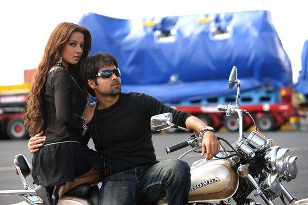 Celina and Emraan Wonderful Still On Bike