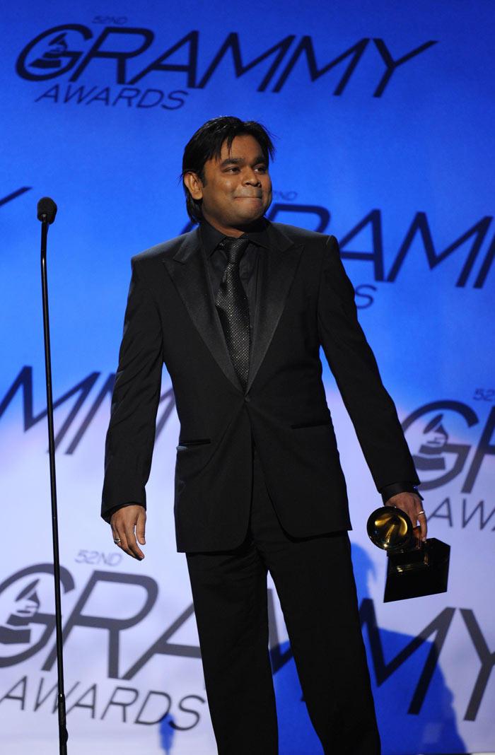 A R Rahman Happy Still With Grammy Award