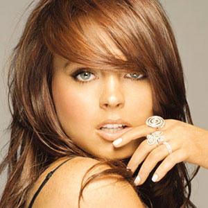 Lindsay Lohan Smoky Eyes Look Still