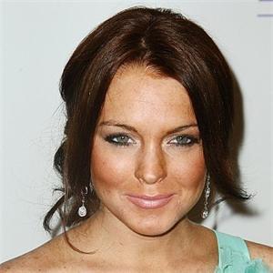 Lindsay Lohan Sweet Smile Glamour Still