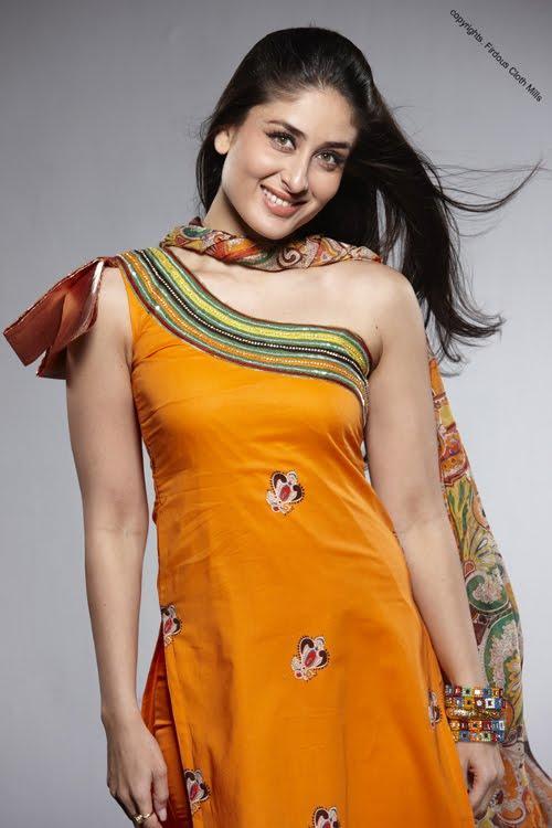 Kareena Kapoor Cute Hot Still In Shalwar Kameez