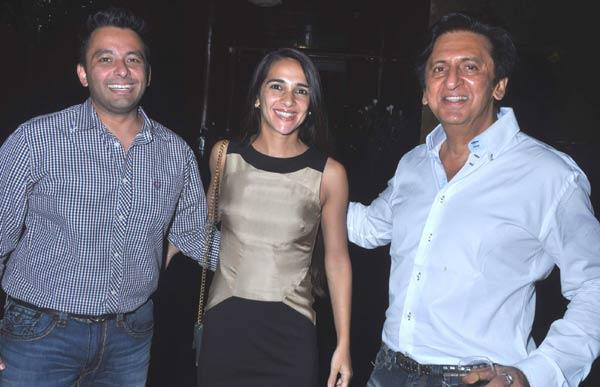 Roopak,Tara And Kailash Celebrate Aarti Surendranath Birthday Party