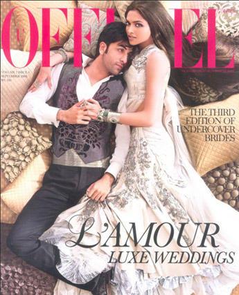 Ranbir And Deepika On L'Officiel Magazine Cover