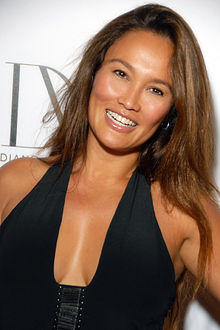 Sexy Tia Carrere Smiling Hot Stills
