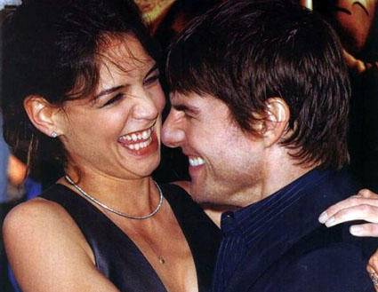 Tom Cruise And Katie Holmes Cute Photo