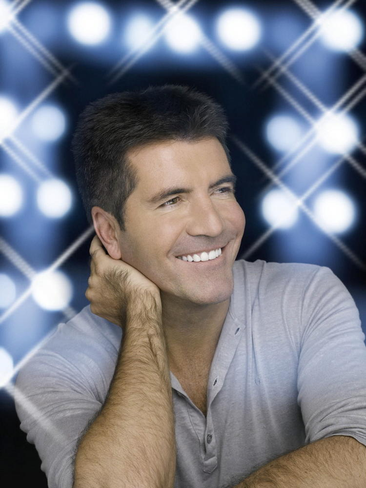 Simon Cowell Cute Smiling Pic