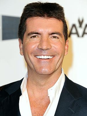 Simon Cowell Smiling Stills