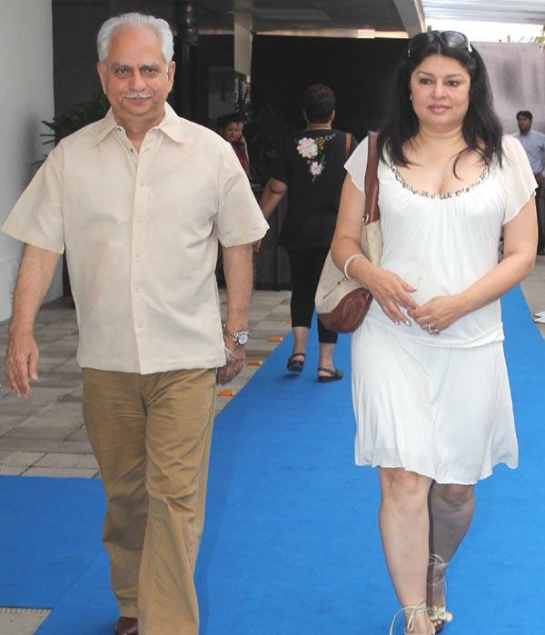 Ramesh Sippy With Wife Spotted At Hakkasan Anniversary Bash
