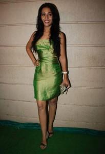 Amrita Rao Green Dress Sexy Still