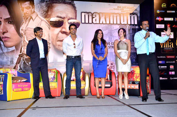 Cast Of Maximum at IIFA 2012 Singapore Press Conference For Maximum