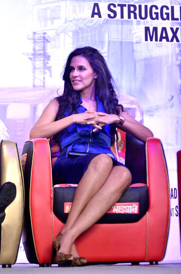 Gorgeous Neha Dhupia at Press Conference of Maximum at IIFA