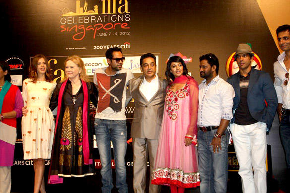 B Town Stars at Opening Weekend Press Conference of IIFA