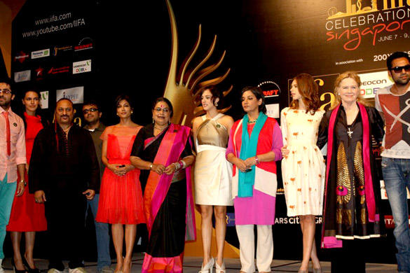 Celebrities at Opening Weekend Press Conference of IIFA