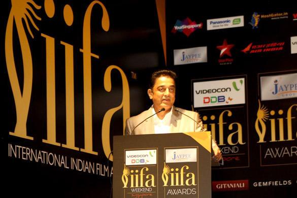 Kamal Hassan Speaks During Opening Weekend Press Conference of IIFA