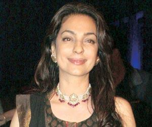 Juhi Sang Nanhi Si Gudiya and Preeto For 2010 Punjabi Film Sukhmani She Also Recorded Title Track of an Upcoming Childrens Film