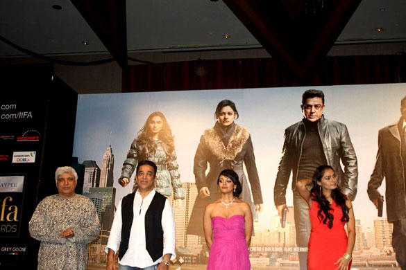 Kamal Hassan's Hindi Film Vishwaroop Press Meet at IIFA Singapore