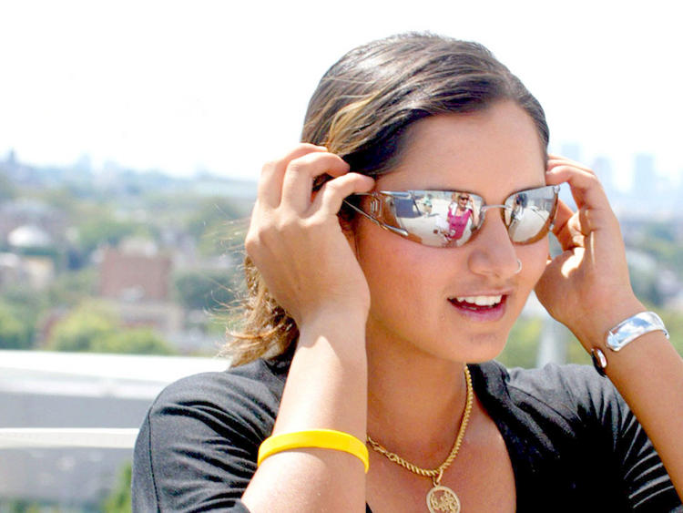 Sania Mirza Stylist Stunning Pic