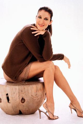 Celine Dion Cute Sexy Look Still