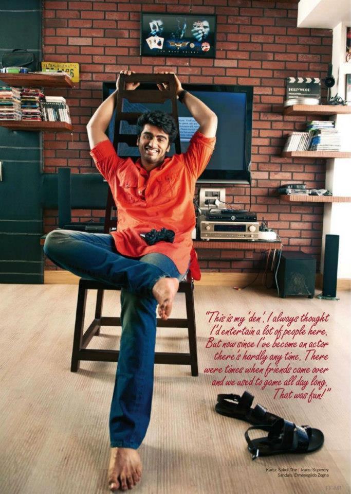 Stylist Hero Arjun Kapoor Photo Shoot For Filmfare