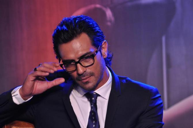 Arjun Rampal Spotted At The Launch Of Inkaar Calendar