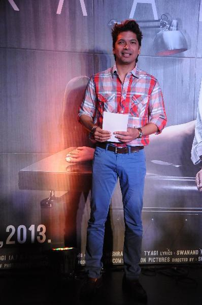 Shaan Posed For Camera During The Launch Of Inkaar Calendar